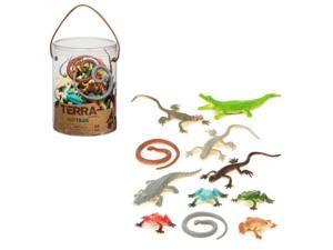 Reptiles Terra Tube 60 pcs. - Play Animals by Battat (68811)