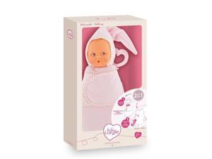 Babiswaddle Pink Cotton Flower - Play Doll by Corolle (DLF35)