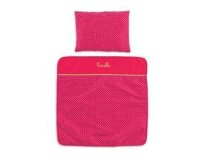 Mon Classique Cherry Blanket & Pillow - Doll Accessories by Corolle (CMW95)