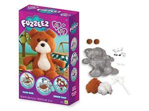 Fuzzeez Bear - Craft Kit by Orb Factory (74609)
