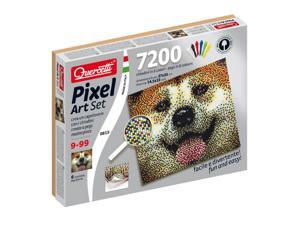 Dog Pixel Art 7200 pcs. - Building Set by Quercetti (0815)