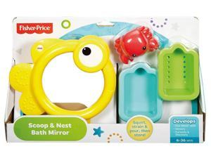 Scoop & Nest Bath Mirror - Bath Toy by Fisher Price (CMY27)