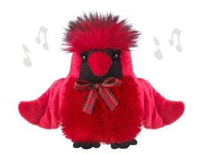 Holiday Cardinal 5 inch - Holiday Stuffed Animal by Ganz (HX11439)