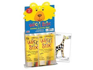 Wikki Stix Animal Activity Pack (12 individual Packs) Art Supplies by Wikki