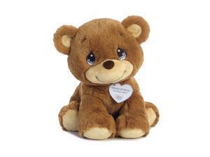 Charlie Bear 12 inch - Baby Stuffed Animal by Precious Moments (15701)