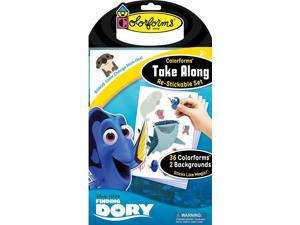 Finding Dory Take Along Set - Travel Game by Colorforms (731)