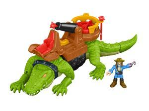 Pirate Walking Crock and Hook - Imaginative Play Set by Fisher Price (DHH63)