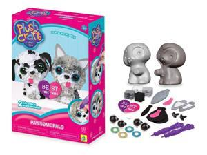 Plushcraft 3D - Pawsome Pals - 2 pack Best Friens Dogs Craft Kit by Orb Factory