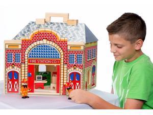 Fold & Go Fire Station  - Imaginative Play Set by Melissa & Doug (2756)