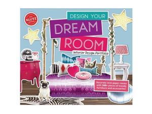 Design Your Own Dream Room - Craft Kit by Klutz (803752)