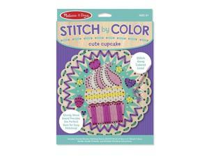 Embroidery Made Easy - Cupcake - Craft Kit by Melissa & Doug (8918)