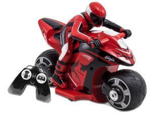 Kawasaki with Rider Ninja Red - Remote Controlled Vehicle by Kid Galaxy (10197)