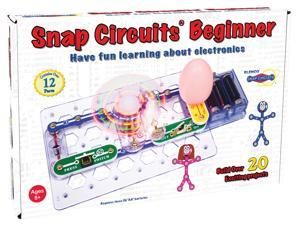 Snap Circuits Beginner - Science Kit by Elenco Electronics (SCB-20)