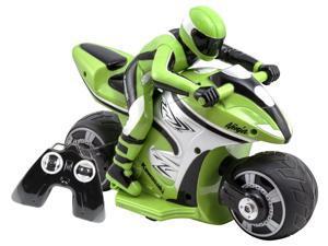 Kawasaki with Rider Ninja Green Remote Controlled Vehicle by Kid Galaxy (10198)