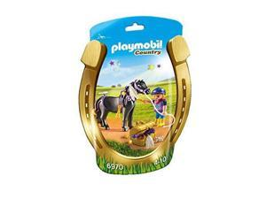 Groomer with Star Pony - Play Set by Playmobil (6970)