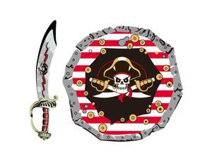 Pirate Sword & Shield Set - Pretend Play Toy by Schylling (PSET)