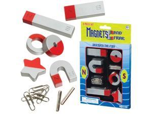 Magnet Set 8 Pc. - Science Equipment by Toysmith (7364)