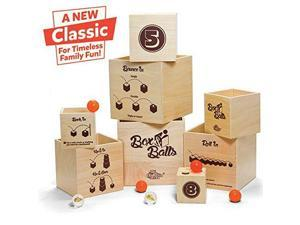 Box & Balls - Active Game by Fat Brain Toys (FA113)