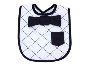 DRESS UP BOWTIE BIB - VERSAILLES BLACK AND WHITE
