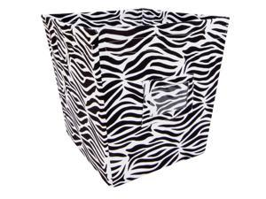BLACK & WHITE ZEBRA - BIN - MEDIUM
