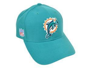 NFL Miami Dolphins Reebok Rbk Curved Bill Velcro Constructed Licensed Hat Cap