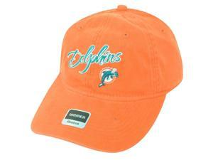 NFL Miami Dolphins Orange Relax Reebok Women Clip Buckle One Size Cap Hat DH1593