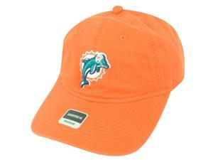 NFL Miami Dolphins Relax Reebok Women Orange ClipBuckle Authentic Cap Hat DH1595