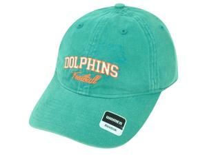 NFL Miami Dolphins Relax Reebok Women Clipbuckle Green Adjustable Cap Hat DH1581