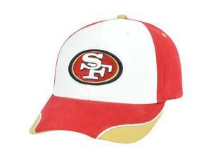 NFL San Francisco 49ers Niners Adjustable Velcro Construct Hat Cap XZ508 Cotton