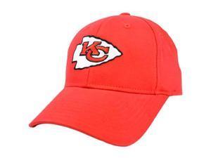 NFL Kansas City Chiefs Red Reebok One Size Flex Stretch Fit Hat Cap Licensed