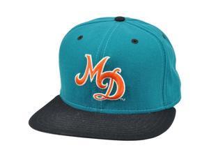 NFL Miami Dolphins Vintage Old School Flat Snapback New Era Pro Model Hat Cap
