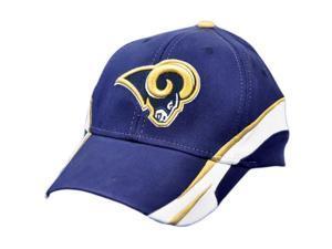 NFL St Saint Louis Rams White Navy Blue Team Colors Small Medium Cap Hat License