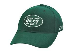 NFL Reebok NY New York Jets Dark Forest Green White Velcro Constructed Licensed