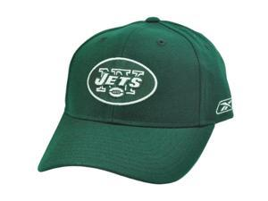 NFL Reebok Rbk NY New York Jets Flex Fit Dark Green White Constructed Licensed