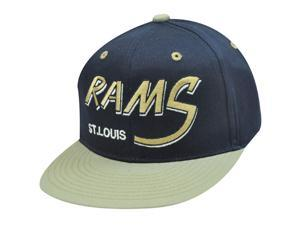 Nfl St Louis Rams Flat Bill Old School Snapback Cap Hat