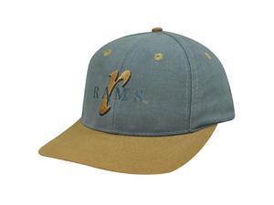 Nfl Saint Louis Rams Old School Grey Cap Hat Adj New