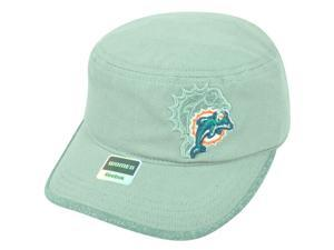 NFL Miami Dolphins Reebok Women's Military Season Snap Back Gray Cap Hat DH1683