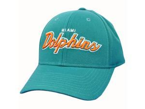 NFL Miami Dolphins Turquoise Reebok Hat Cap One Size Fits All Licensed Garment
