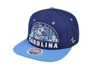 NCAA Zephyr North Carolina Tar Heels 32/5 Equalizer Snapback Flat Bill Hat Cap