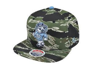 NCAA Zephyr North Carolina Tar Heels Urban Jungle Camouflage Snapback Hat Cap