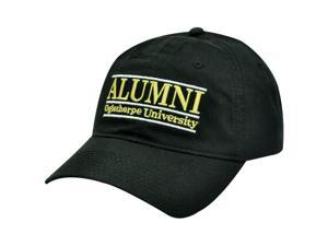 HAT CAP NCAA ALUMNI OGLETHORPE UNIVERSITY ATLANTA GEORGIA RETRO BLACK BUCKLE BAR