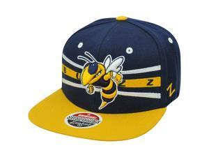 NCAA Zephyr Front Runner Georgia Tech Yellow Jackets Buzz Snapback GT Hat Cap
