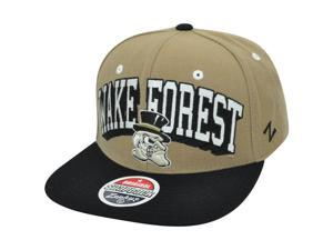 NCAA Wake Forest Demon Deacons Zephyr Block Buster Snapback Flat Bill Hat Cap