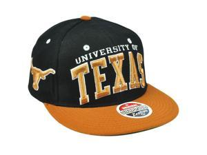 NCAA Texas Longhorns Zephyr ZHat Super Star 32/5 Snapback Flat Bill Hat Cap