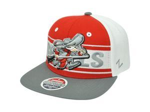 NCAA UNLV Vegas Running Rebels Zephyr Game Changer Snapback Flat Bill Hat Cap