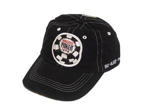 OFFICIAL WSOP WORLD SERIES POKER BLACK NEW HAT CAP ADJ