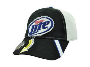 Miller Lite Bottle Opener Garment Wash Distressed Beer Cerveza Snapback Cap Hat