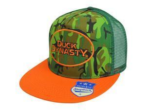 Duck Dynasty A&E TV Series Mesh Trucker Snapback Trucker Hat Cap Camouflage Camo