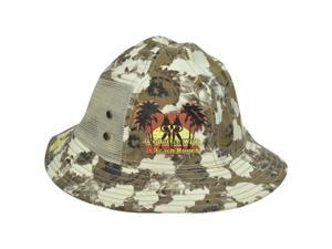 Playboy Beach Bunny Camouflage Mesh Sun Bucket Fitted Large/X-Large Hat Camo
