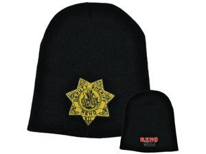 Reno 911 Comedy Central Show Sheriff Badge Knit Toque Beanie Skully Winter Hat